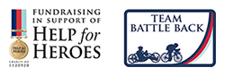 Fundraising in support of Help for Heroes - Battle Back