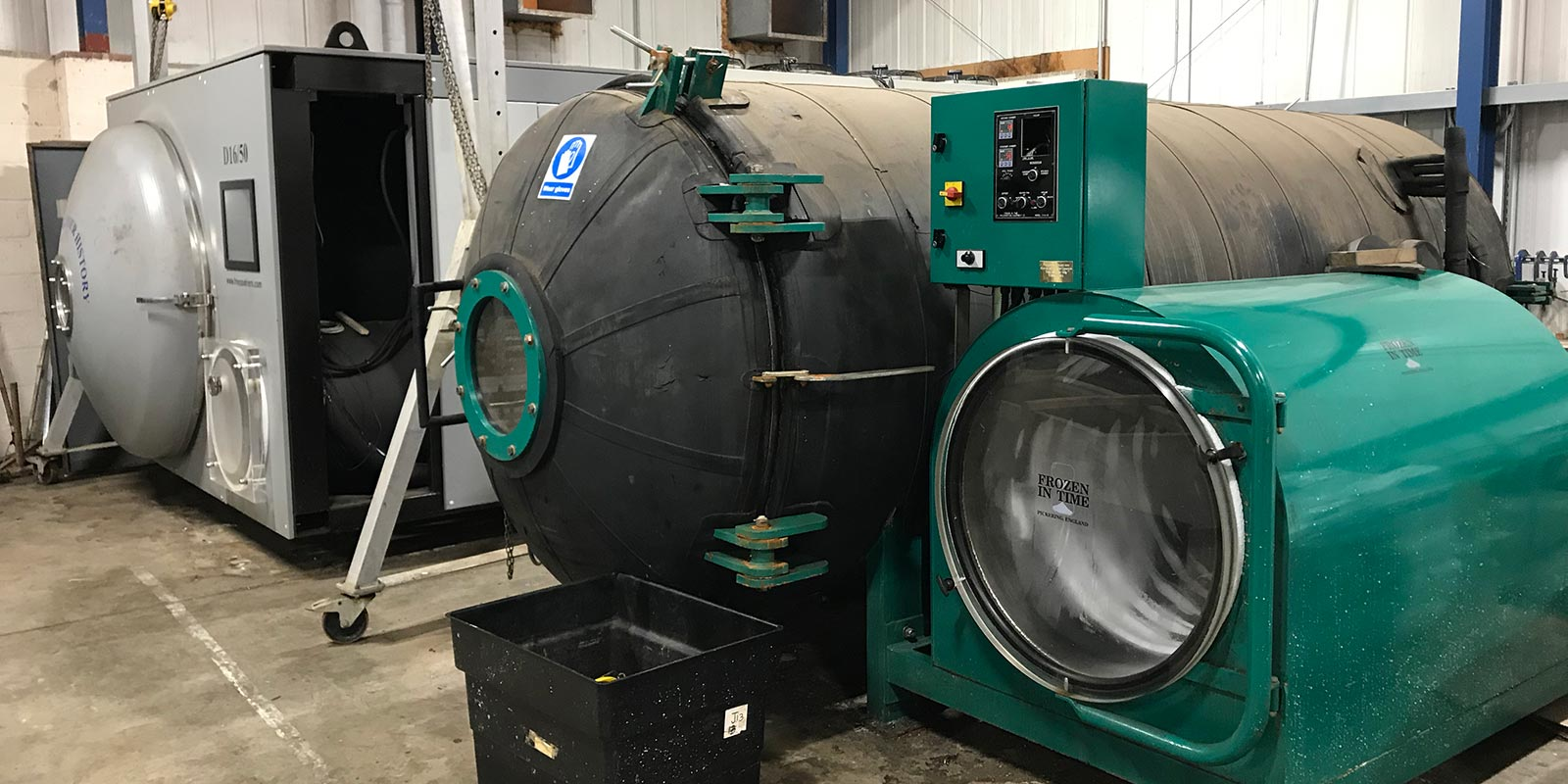 A photo of Freeze dryers
